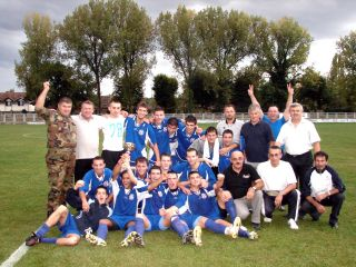Borovo - Cup winners of Vukovar Football Centre, 2006.